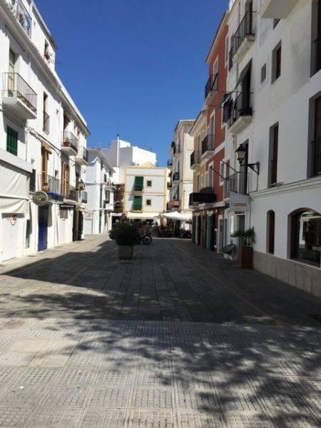 Ibiza stad kinderen vakantie