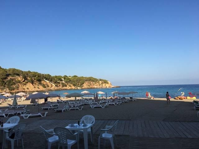 Strand Ibiza kinderen