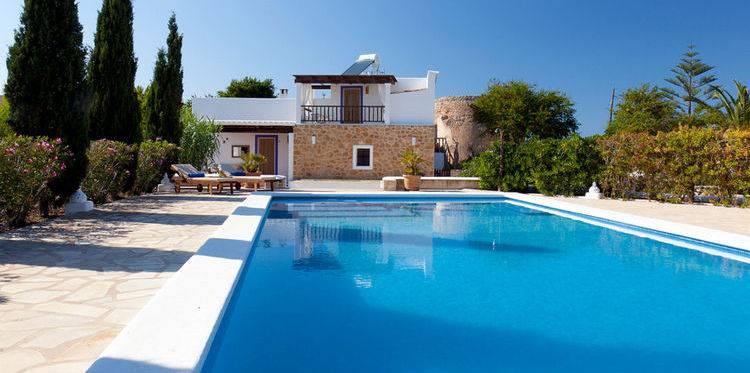 Villa vakantie gezin Ibiza vakantie